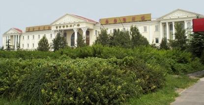 Dilapidated luxury bathhouse, Beijing