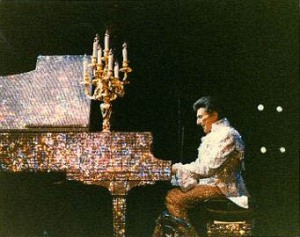 Liberace's jewel-encrusted piano