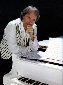 Richard Clayderman's white piano
