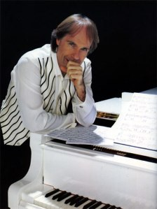Richard Clayderman's white piano