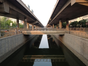 East end of North 2nd Ring Road Moat