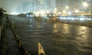 Tonghui Canal flooding
