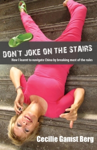 Don't joke on the stairs book cover