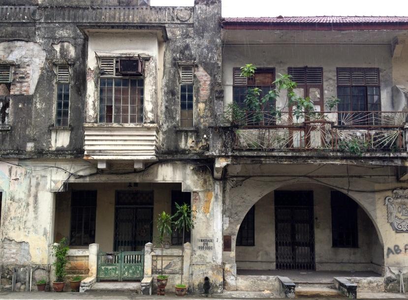 Old Malaysian facade