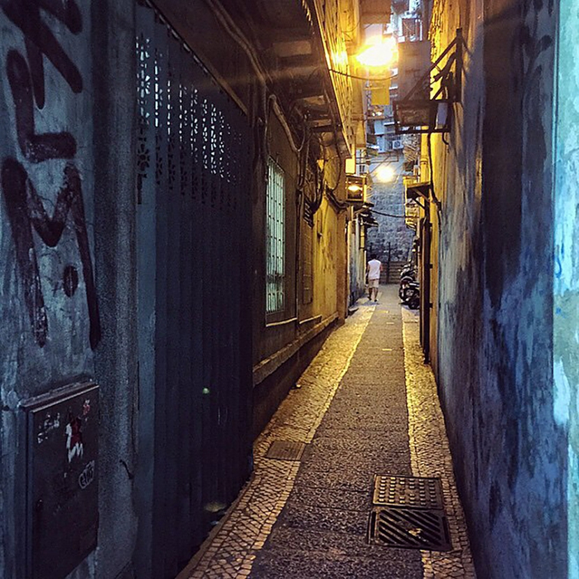 old Macau lane