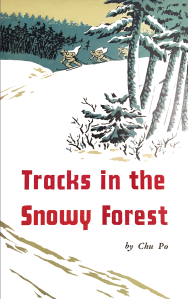 Tracks in the Snowy Forest book cover