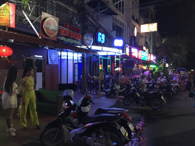 136 Street in Phnom Penh