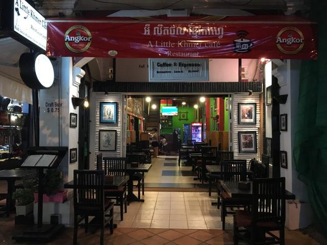Cafe in Siem Reap
