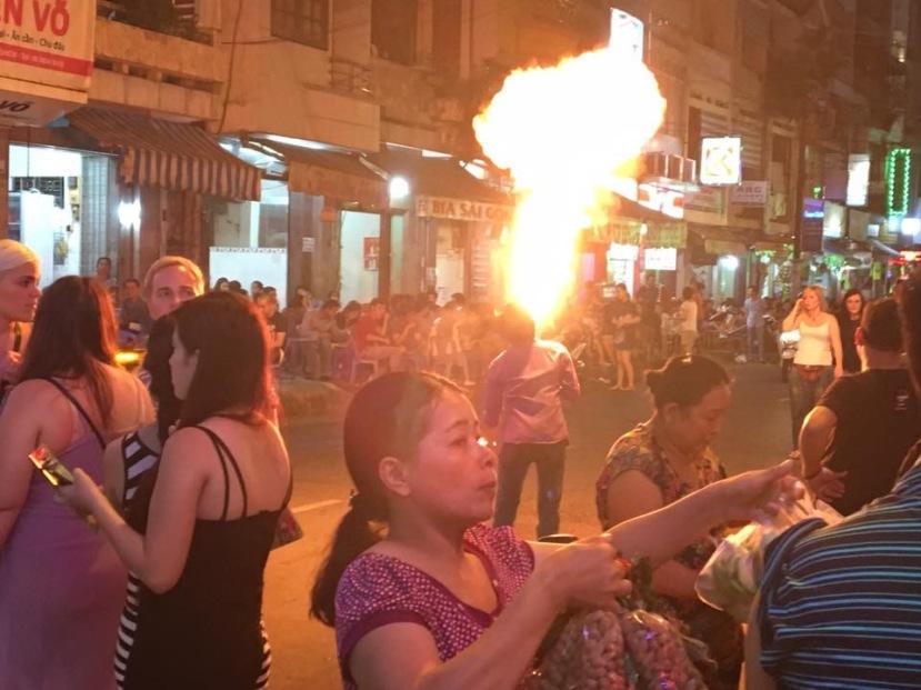 Bùi Viện Street, Saigon