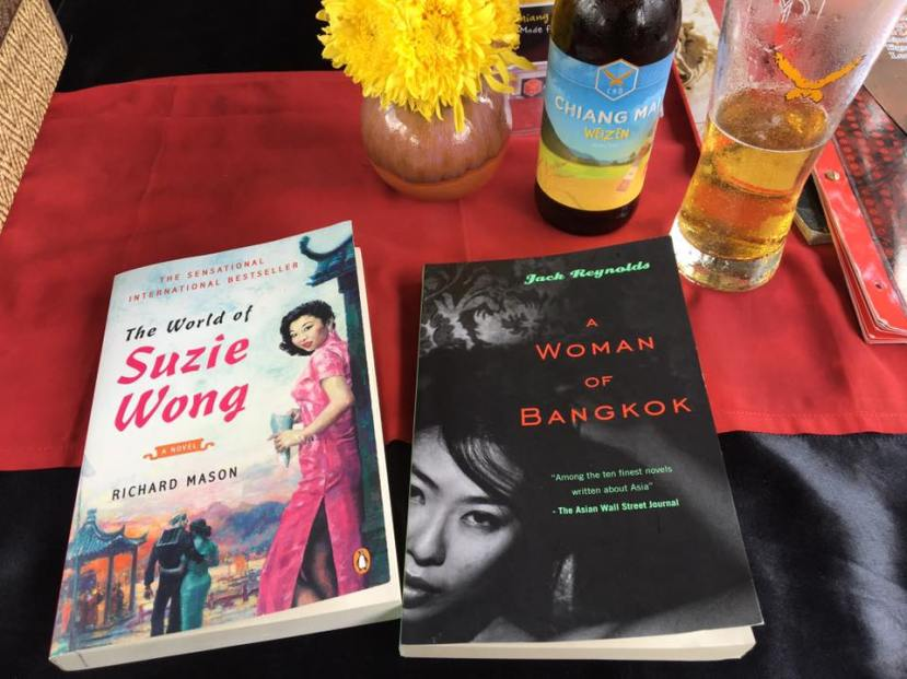 Suzie Wong and Woman of Bangkok book covers