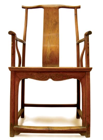 Ming Dynasty yellow rosewood chair